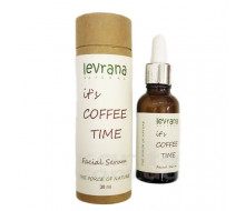 "Сыворотка для лица с кофеином ""it`s coffee time"" Levrana"